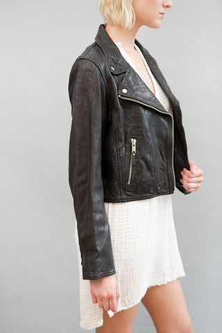 Isabel Marant Étoile Barry Moto Leather Jacket