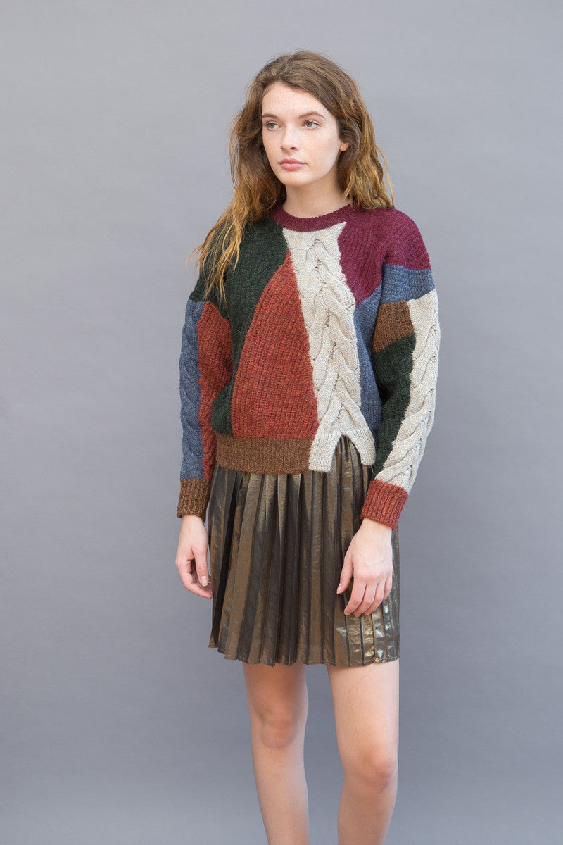 Isabel Marant Étoile Gao Arty Knit Pullover - grethen house