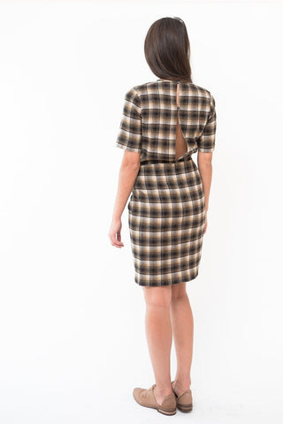 Isabel Marant Étoile Pardena Plaid Dress
