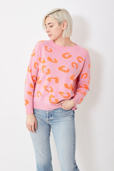 Jumper 1234 Dual Color Leo Sweater