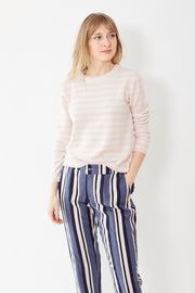 Jumper 1234 Marine Stripe Sweater