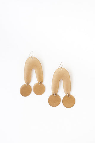 KT Woodling UU Earrings