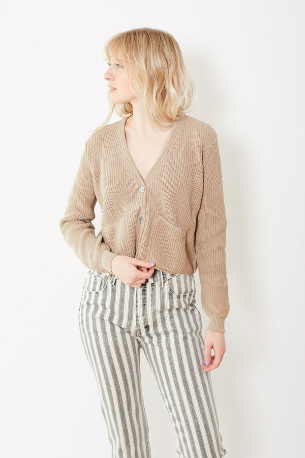 Kokun Cropped Cardigan