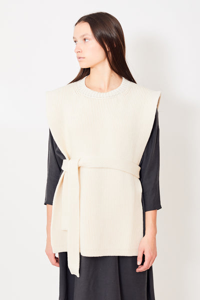 Lauren Manoogian Interlock Apron Top