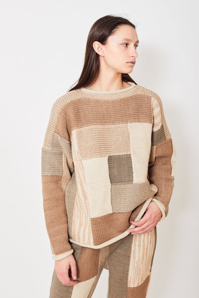 Lauren Manoogian Log Cabin Pullover