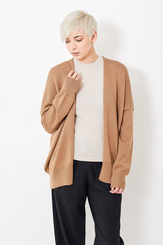 Lauren Manoogian Oversize Simple Cardigan