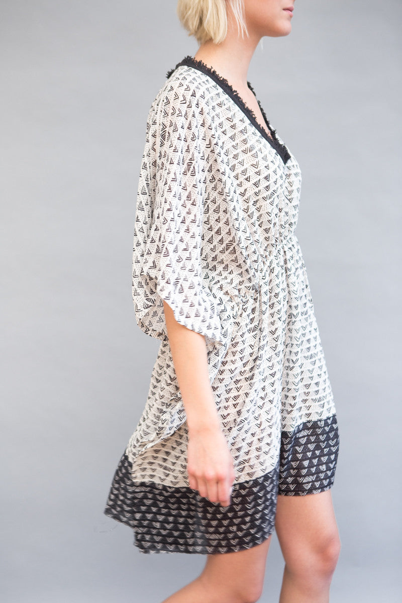 Lemlem Lula Cover Up Dress - grethen house