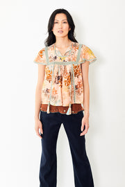 Let Me Be Lizzie Call of Breeze Blouse