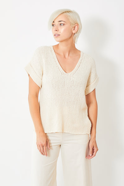 Lilla P Easy V Neck Sweater