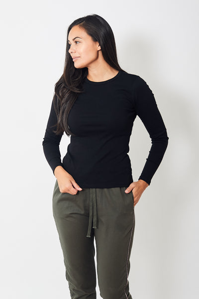 Lilla P Long Sleeve Crewneck Tee
