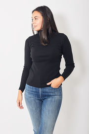 Lilla P Long Sleeve Turtleneck Tee