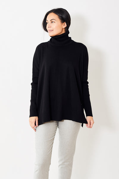Lilla P Oversized Turtleneck Sweater