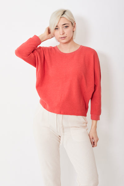 Lilla P Seamed Dolman Top