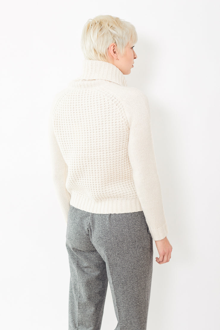 Lilla P Cropped Turtleneck