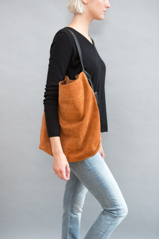 Linde Gallery Suede Velour Bag - grethen house