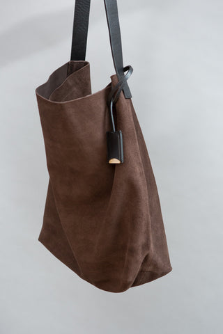 Linde Gallery Suede Velour Bag