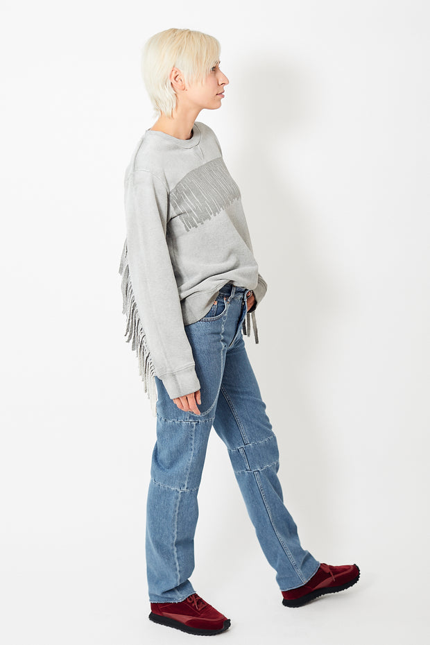 MM6 Maison Margiela 5 Pocket Patch Jean