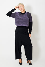 MM6 Maison Margiela Asymmetrical Drop Crotch Trousers