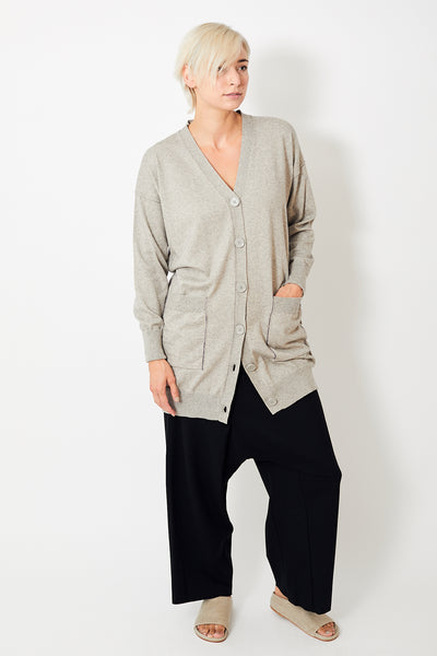 MM6 Maison Margiela Oversize V Neck Cardigan