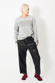MM6 Maison Margiela Pleather Jogger Pant