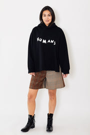 MM6 Humans Hoodie Black