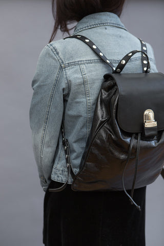 MM6 Maison Margiela Backpack with Studded Straps
