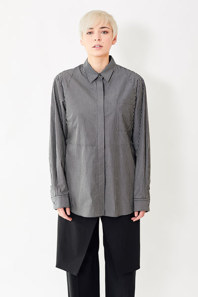 MM6 Maison Margiela Button Down Shirt w/ Ties