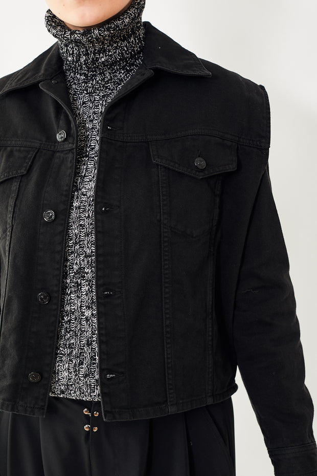 MM6 Maison Margiela Denim Vest Jacket
