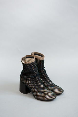 MM6 Maison Margiela Fishnet Short Boot
