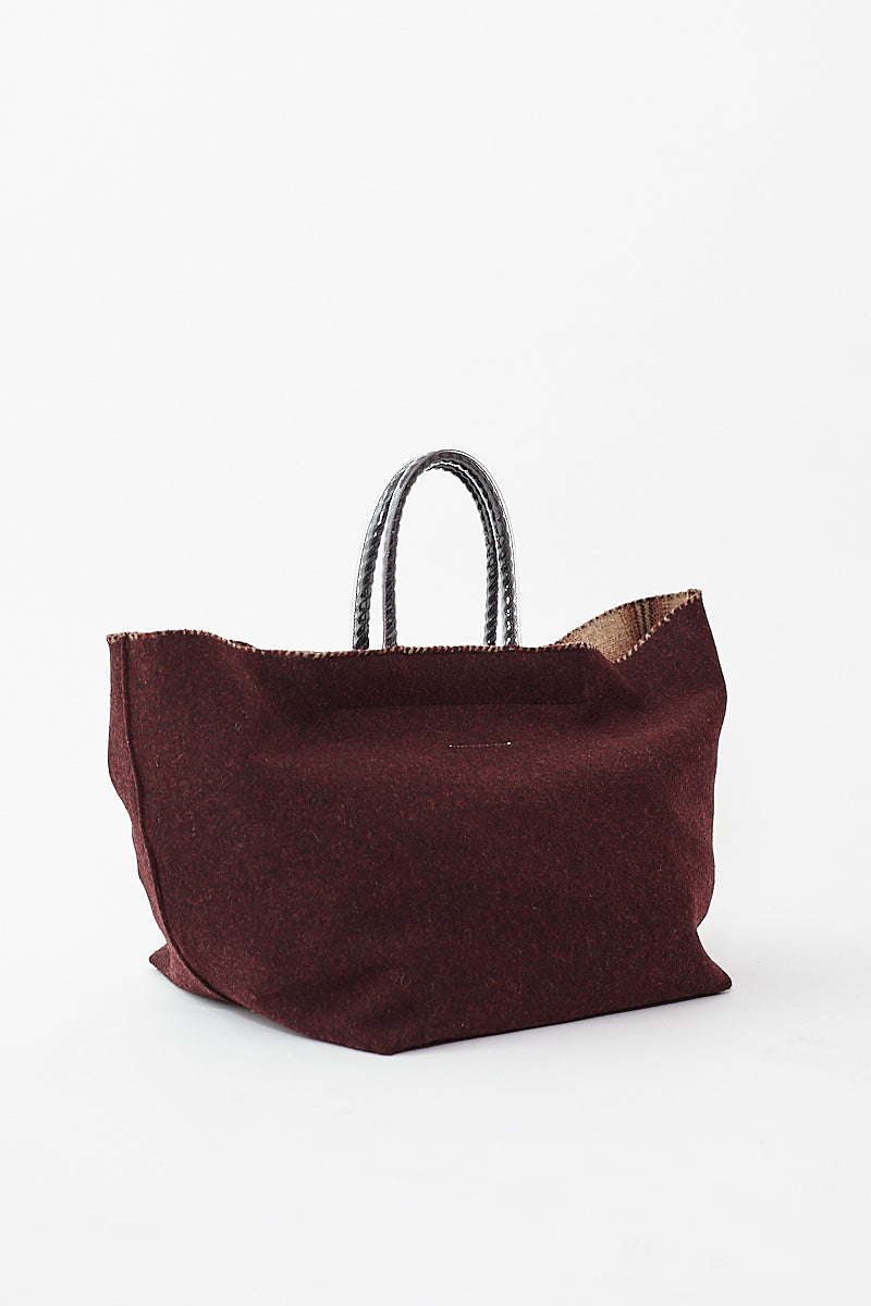 MM6 Maison Margiela Handbag Bordeaux