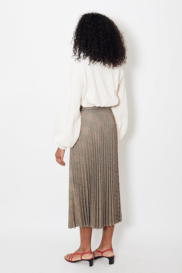 MM6 Maison Margiela Long Pleated Skirt