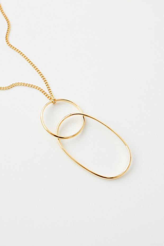 MM6 Maison Margiela Loop Pendant Necklace