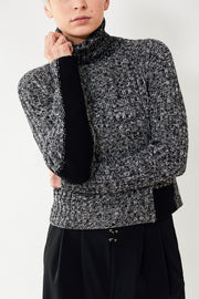 MM6 Maison Margiela Marled Turtleneck Sweater