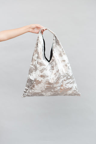MM6 Maison Margiela Metallic Marbled Bag - grethen house
