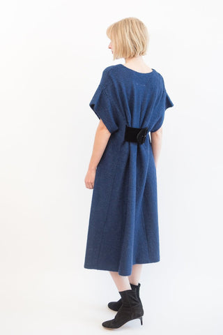 MM6 Maison Margiela Mohair Dress with Velvet Belt