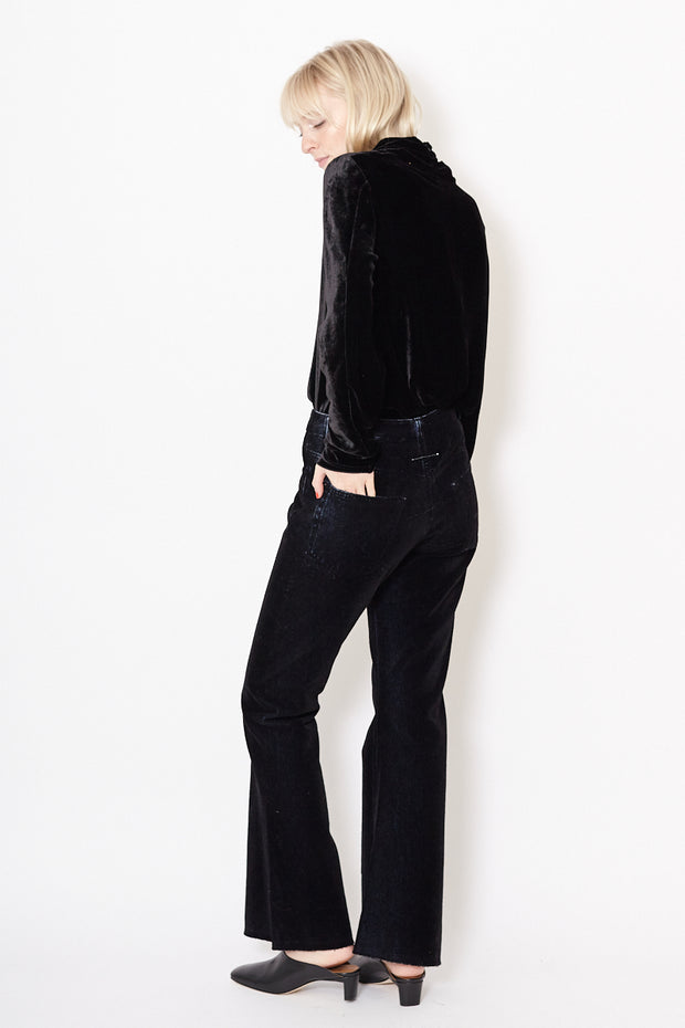 MM6 Maison Margiela Pants with 5 Pockets Flock