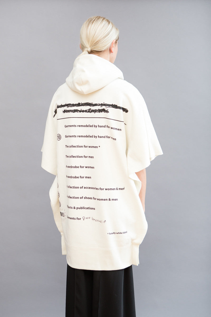 MM6 Maison Margiela Printed Sweatshirt Dress