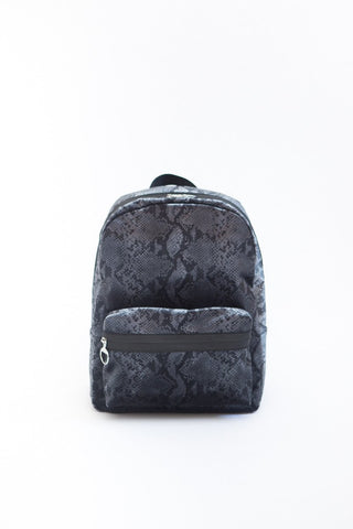 MM6 Maison Margiela Python Velvet Backpack