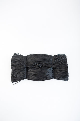 MM6 Maison Margiela Raffia Clutch