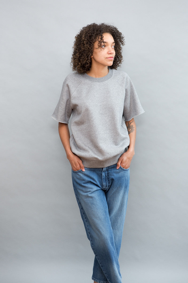 MM6 Maison Margiela Soft Brushed Sweatshirt - grethen house