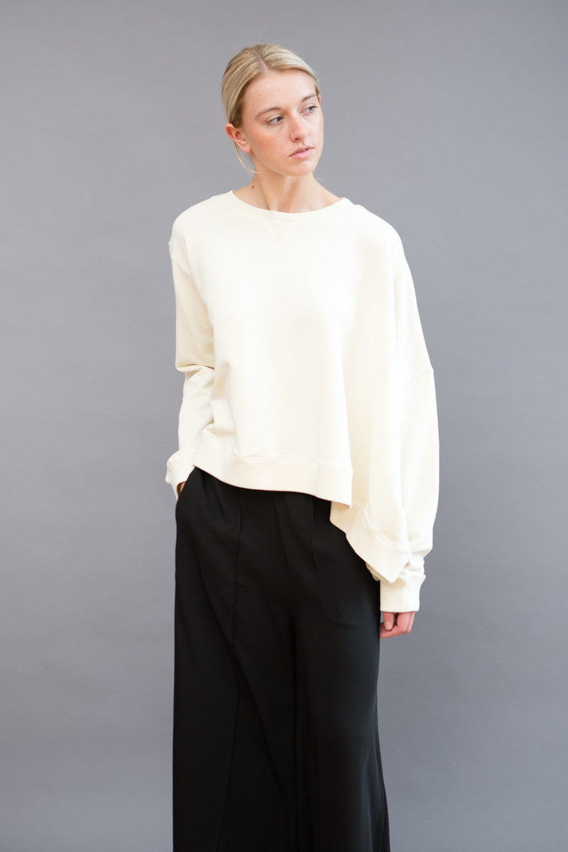 MM6 Martin Margiela Asymmetric Sweatshirt