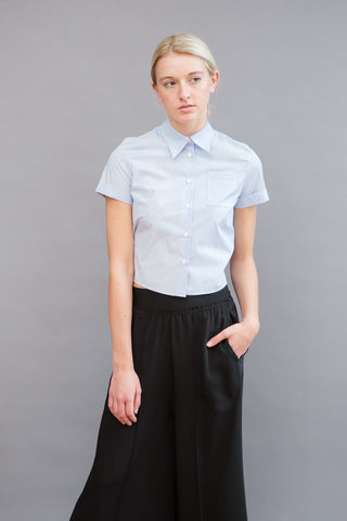 MM6 Martin Margiela Short Sleeve Back Tie Shirt