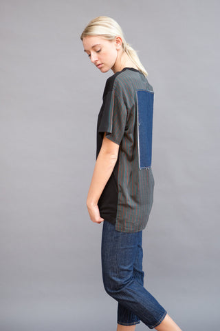 MM6 Martin Margiela Tee with Denim Back Patch