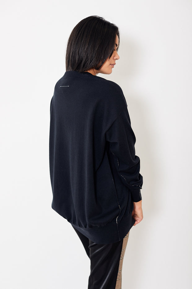 Oversized Pullover Navy