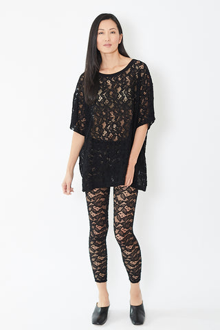 MM6 Pants Cotton Lace Stretch