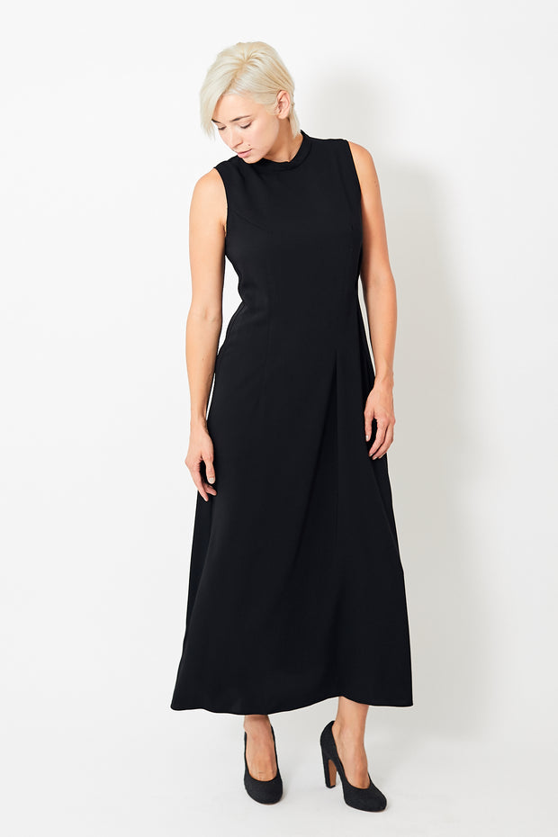 MM6 by Maison Margiela Mockneck Sleeveless Dress