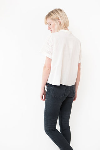 Masscob Short Sleeve Eyelet Shirt
