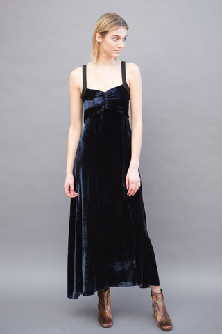 Masscob Velvet Maxi Dress