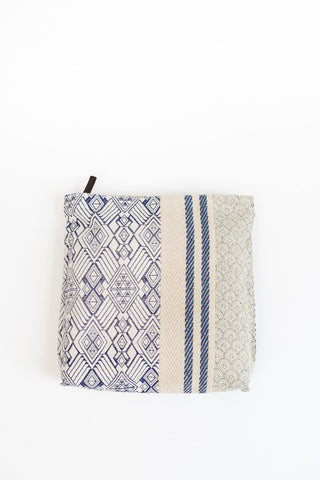 Megan Park Jacquard Patch Clutch