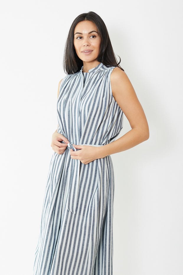 Mii Stripe Midi Dress